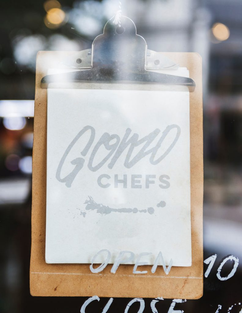 gonzo chefs professional kitchen habits